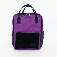 Молодежный рюкзак фиолетовый/чёрный