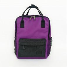 Молодежный рюкзак фиолетовый/серый
