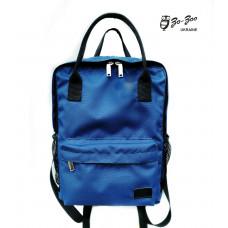 Молодежный рюкзак синий