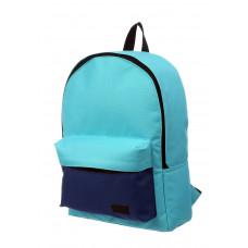 Городской рюкзак бирюзовый/синий