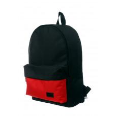 Городской рюкзак черный/красный