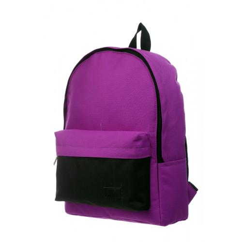 Городской рюкзак фиолетовый/черный