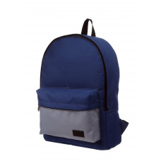 Городской рюкзак синий/серый