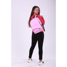 Городской рюкзак розовый