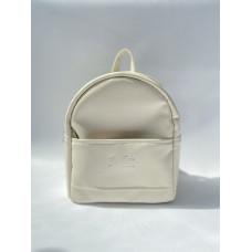 Рюкзак экокожа кремовый mini