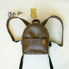 Рюкзак экокожа коричневый mini