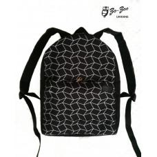 Рюкзак текстильный непромокаемый Параллелограммы maxi