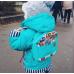 Детский рюкзак непромокаемый Совы бирюзовый