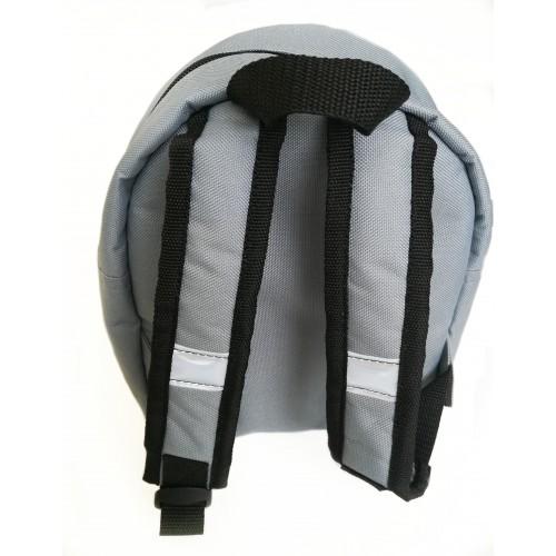 ... Детский рюкзак непромокаемый Экскаватор серый ... 05b4dd5c3285d