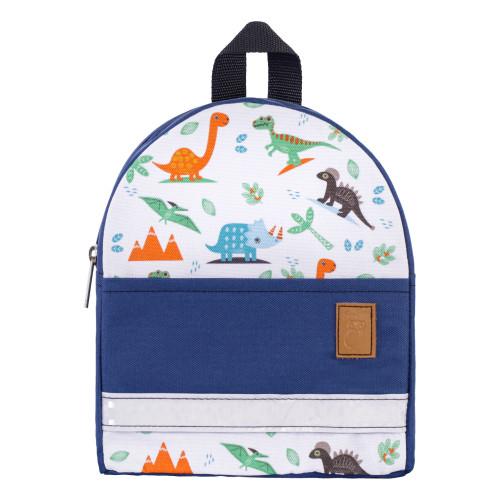 Детский рюкзак непромокаемый Дино синий