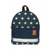 Детский рюкзак непромокаемый Звезды синий