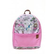 Рюкзак непромокаемый средний Принцессы розовый