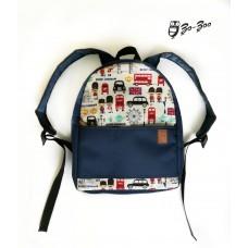 Рюкзак непромокаемый средний Лондон синий