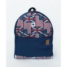 Рюкзак непромокаемый средний Флаги синий
